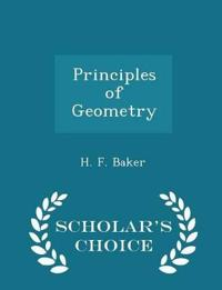 Principles of Geometry - Scholar's Choice Edition