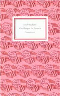 Insel-Bücherei. Mitteilungen für Freunde