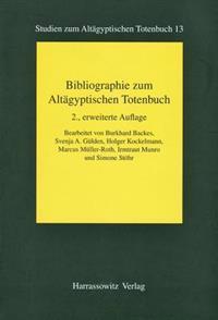 Bibliographie Zum Altagyptischen Totenbuch