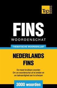 Thematische Woordenschat Nederlands-Fins - 3000 Woorden