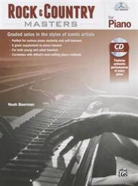Rock & Country Masters for Piano: Graded Solos in the Styles of Iconic Artists, Book & CD