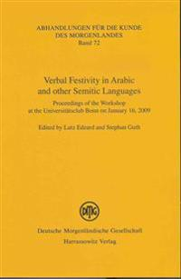 Verbal Festivity in Arabic and Other Semitic Languages