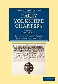 Early Yorkshire Charters