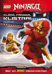 LEGO Ninjago : klara, färdiga, klistra!