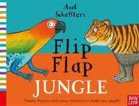 Axel Scheffler's Flip Flap Jungle - Nosy Crow - böcker (9780857634108)     Bokhandel