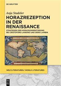 Horazrezeption in Der Renaissance