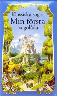 Klassiska sagor Min första Sagolåda 10 små böcker i en box