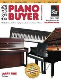 Acoustic & Digital Piano Buyer Fall 2015