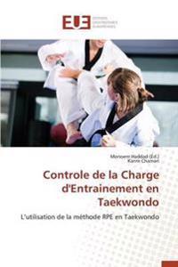 Controle de la Charge d'Entrainement En Taekwondo