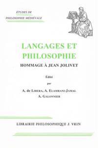 Langages Et Philosophie: Hommage a Jean Jolivet