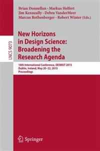 New Horizons in Design Science