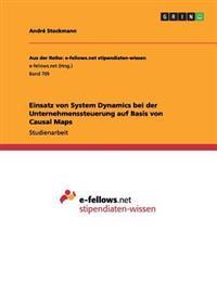 Einsatz Von System Dynamics Bei Der Unternehmenssteuerung Auf Basis Von Causal Maps