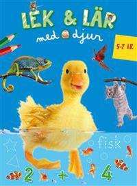 Lek & Lär med djur (5-7 år blå)