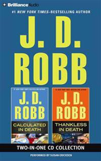J. D. Robb Calculated in Death and Thankless in Death 2-In-1 Collection