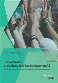 Rockfestivals - Entstehung Und Bedeutungswandel