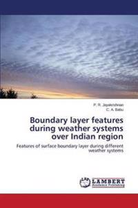 Boundary Layer Features During Weather Systems Over Indian Region