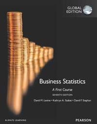 Business Statistics:A First Course plus MyStatLab with Pearson eText, Global Edition