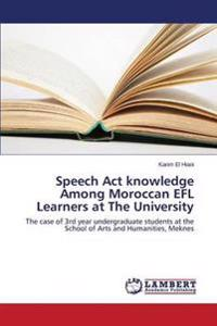 Speech ACT Knowledge Among Moroccan Efl Learners at the University