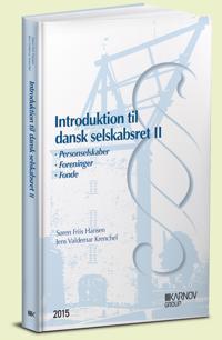 Introduktion til dansk selskabsret-Personselskaber, foreninger og fonde