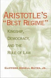 Aristotle's Best Regime