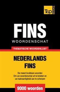 Thematische Woordenschat Nederlands-Fins - 9000 Woorden