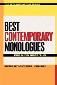 Best Contemporary Monologues for Kids Ages 7-15