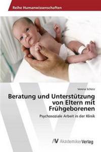 Beratung Und Unterstutzung Von Eltern Mit Fruhgeborenen