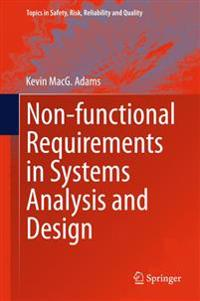 Nonfunctional Requirements in Systems Analysis and Design
