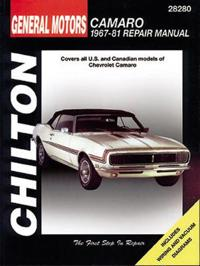 Chevrolet Camaro, 1967-81
