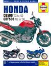 Honda CB500 Service and Repair Manual