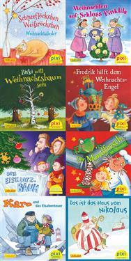 Pixi-Weihnachts-Box 8er Serie: Lasst uns froh und munter sein