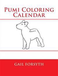 Pumi Coloring Calendar