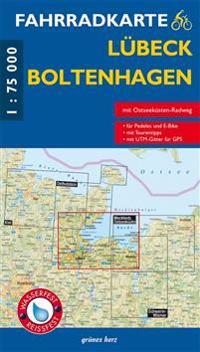 Lübeck-Boltenhagen Fahrradkarte 1 : 75 000