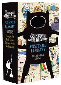 Adventure Time Postcard Library: 100 Cards in 4 Books, 25 in Each