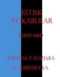 Estisk Vokabular