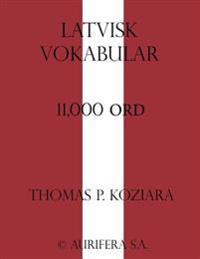 Latvisk Vokabular