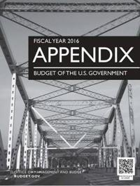 Appendix, Budget of the United States Government, Fiscal Year 2016