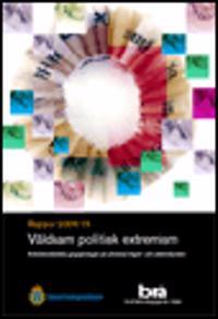 Våldsam politisk extremism : antidemokratiska grupperingar på yttersta höger- och vänsterkanten