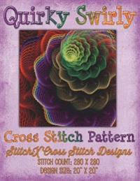 Quirky Swirly Cross Stitch Pattern