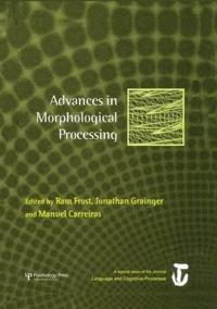 Advances in Morphological Processing