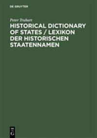 Historical Dictionary of States