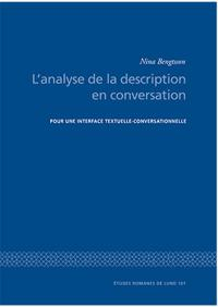 L'analyse de la description en conversation