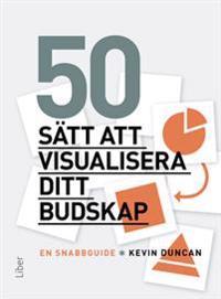 50 sätt att visualisera ditt budskap : en snabbguide