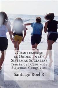 ¿cómo Emerge El Orden En Los Sistemas Sociales?: Teoría del Caos Y Teoría de Sistemas Complejos Aplicadas a la Prevención de la Violencia Y La Delincu