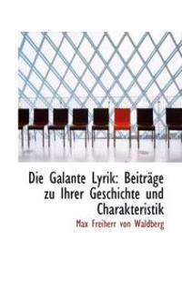 Die Galante Lyrik