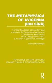 The Metaphysica of Avicenna Ibn-sina