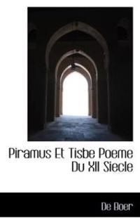 Piramus Et Tisbe Poeme Du XII Siecle