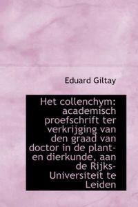 Het Collenchym