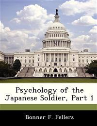 Psychology of the Japanese Soldier, Part 1