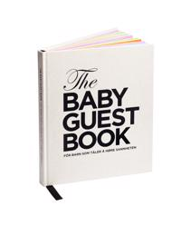 The baby guest book : for barn som tåler å høre sannheten